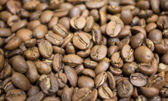 обжаренный кофе